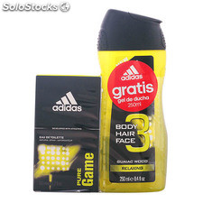 Adidas - pure game lote 2 pz