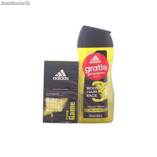 Adidas pure game lote 2 pz