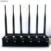Adjustable 15w 3g/4g High Power Cell phone Jammer with 6 Powerful Antenna