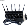 Adjustable 15w High Power Cell phone Jammer with 6 Powerful Antenna