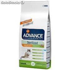 Advance feline adult sterilized pavo y cebada 1.5KG