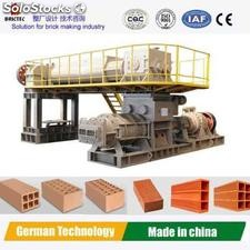 Advanced brick making machine adopted technology Germany
