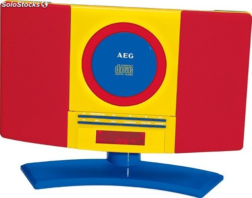 Aeg Minicadena CD/MP3 Kids Line