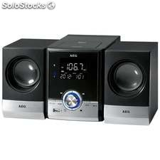 Aeg Minicadena CD/MP3/usb/bt MC4461 Negro