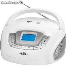 Aeg Radio sd/usb/MP3 sr 4373 blanco PRP02-aeg-SR4373W