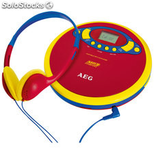 Aeg Reproductor CD/MP3 Portátil cdp 4228 KIds Line