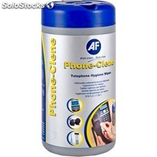 AF - APHC100T Equipment cleansing wet cloths kit de limpieza para computadora
