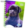 Agenda juvenil dogs book