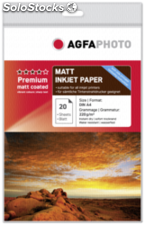 AgfaPhoto Premium Double Side Matt Coated 220 g A 4 20 hojas
