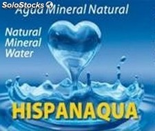 Agua Mineral Natural Hispanaqua 0,5 L