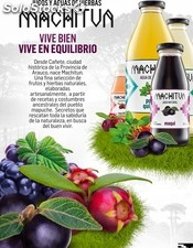 aguas de hierbas y frutas nativas machitun