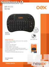 Air mouse CK103 para smart tv oex
