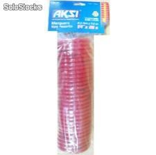"Air recoil hose 1/4"" x 50' Manguera tipo resorte 1/4"" x 15 metros"