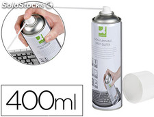 Aire a presion q-connect para limpieza general 400ml no inflamable ecologico