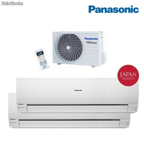 Aire acondicionado bomba de calor panasonic inverter 2x1 for Bomba de calor inverter