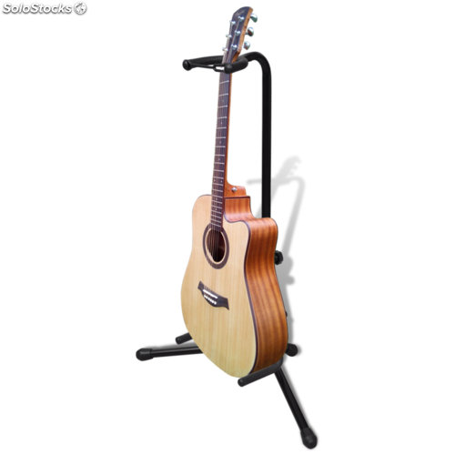 ajustable soporte solo de guitarra plegable