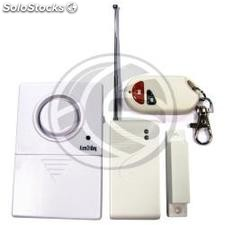 Alarm with wireless magnetic door sensor (LA83)