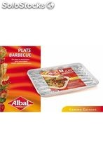 Albal 3 plats barbecue en alu