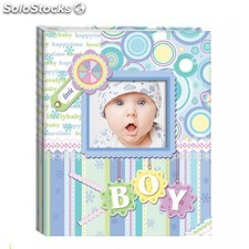 "Album de fotos ""diver baby photo"" azul"