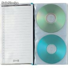 Album porta cd/dvd uno ti cd sei rota - 14,5x25,5 cm - 20 cd/dvd - 55402007