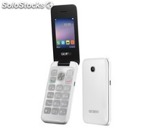 Alcatel 2051D blanco móvil dual sim/ 2.4''/ 2MP/ radio FM PMY02-94159