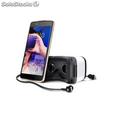 Alcatel idol 4 gold + vr headset PEM02-11788