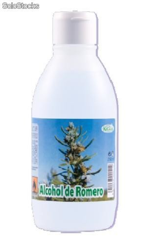 Alcohol de Romero, envase de 250 ml