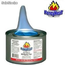 Alcohol Gel Methanol hecho en USA Marca Fancy Heat