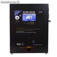 Alcoholímetro a monedas blow & go cdp 4600 black digital