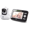 Alecto Video Monitor de Bebés DVM-370 Blanco y Negro