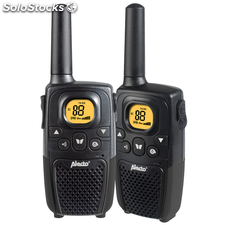 Alecto Walkie-talkie Set 2uds. FR-26ZT Color Negro
