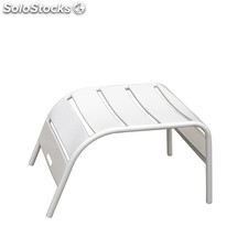 Alegria footrest white