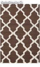 Alfombra rectangular ava textured area rug 121 x 182 cm