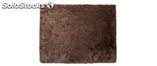 Alfombra shaggy color chocolate 160x230 cm UGO