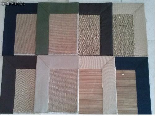 Alfombras yute algas sisal natural for Alfombras yute a medida