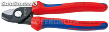 Alicate cortacable knipex 165 mm