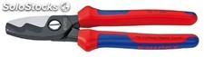 Alicate cortacable knipex mango bimaterial 200MM 95 12 200