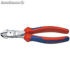 Alicate de corte diagonal 180mm no.7405 Knipex