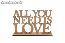 All You Need is Love, decoración