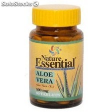 Aloe vera 500MG 60 tabletas nature essential