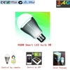 Alta potencia inteligente led luz wifi bombillas led e27 rgb 9w