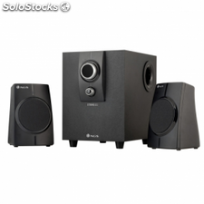 Altavoces 2.1 ngs string - 40w pmpo - 12w total rms - control
