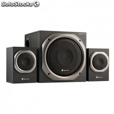Altavoces 2.1 NGS trance - 100w pmpo - 50w total rms - controles volumen /