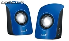 Altavoces genius altavoz sp-U115 1 5W usb blue
