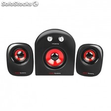 Altavoces mars gaming MS2 - 2.1 - 20W rms - 5 drivers de sonido - subwoofer -