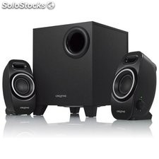 Altavoces PC Creative Technology A250-51MF0420AA000 2.1 9W Negro