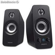 Altavoces PC Creative Technology T15F-51MF1670AA000 2.0 Bluetooth BasXPort...