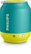 Altavoces portatiles philips BT50A/00 bluetooth,turqesa+am