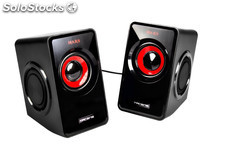 Altavoces tacens mars gaming ms1 2.0 10w rms