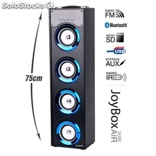Altavoz Bluetooth BIWOND JoyBox Serie Air 40W radio reproductor MP3 azul